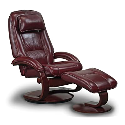 Amazon Com Gaga Recliner Chair Saddle Leather By Lafer