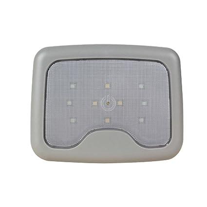 Pawaca - Luces interiores de lectura, magnéticas, USB, recargable, para techo de coche, lámpara de noche, manos libres, linterna de taller regulable, ...