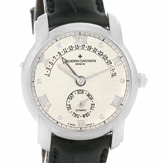 Vacheron Constantin Patrimonio automatic-self-wind Mens Reloj 47245 (Certificado) de segunda