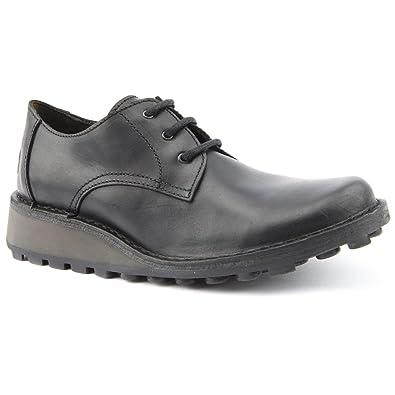 Ladies Fly London Mib Black Leisure Shoes Size 9 Amazonco