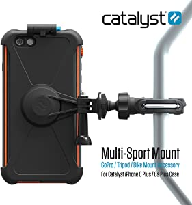 Bike Mount Compatible with iPhone 6 Plus/6s Plus - Hiking, Biking, Adventure Trails (Shock Resistant)