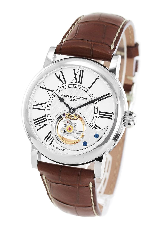 フレデリックコンスタント マニュファクチュール ハートビート アリゲーターレザー 腕時計 メンズ FREDERIQUE CONSTANT 930MS4H6[並行輸入品] B078NNP274