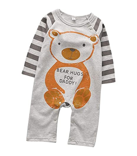 Body de manga larga para bebé, niña, pelele de animales ...