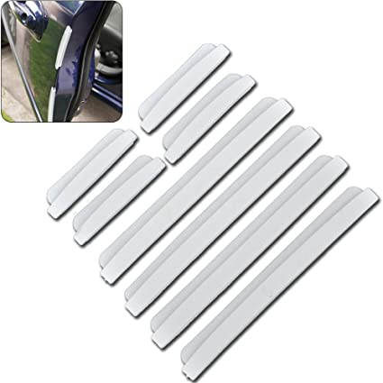 4x car door edge guard strip protector anti-collision trim sticker MC