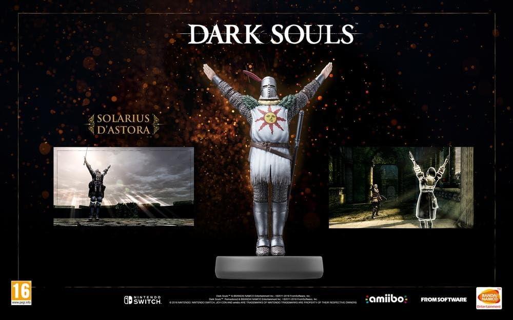 Namco Bandai - Amiibo Solaire de Astora (Nintendo Switch): Amazon ...