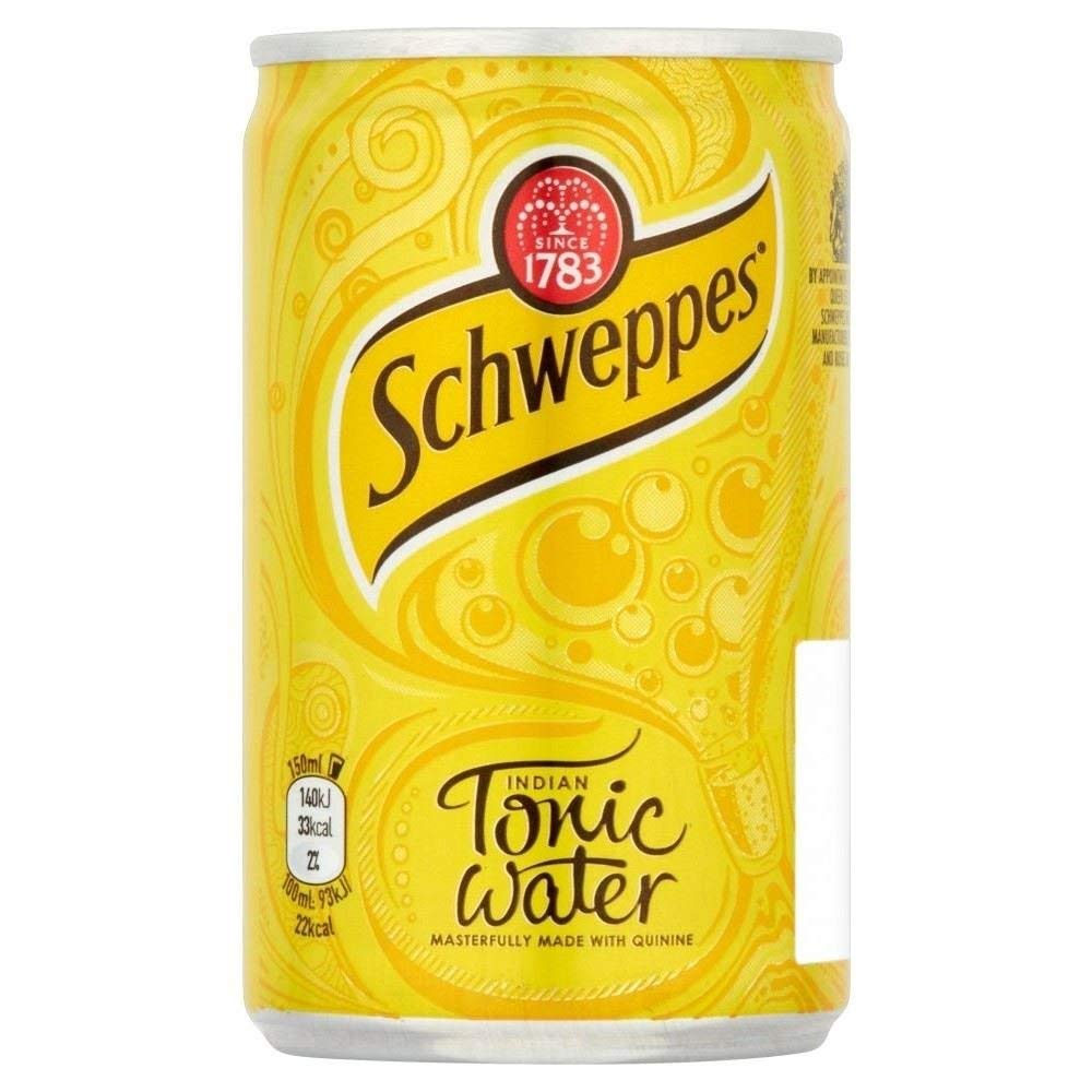 Schweppes Indian Tonic Water 150ml (Pack of 12) by Schweppes