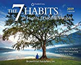 img - for The 7 Habits of Highly Effective People 2019 Desktop Box Calendar, Self Help Improvement book / textbook / text book