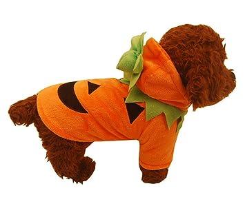 Nuobo Pumpkin Perro Pooch Halloween Disfraz Ropa Mascota ...