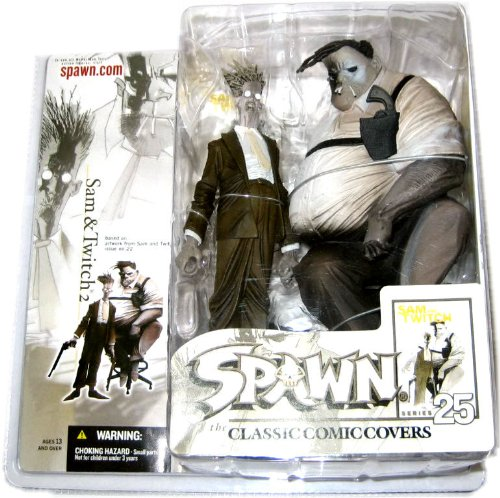 McFarlane Toys Spawn Classic Cover Series #25: Sam & Twitch 2 - Deluxe Action ()