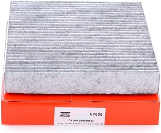 Mapco 67636 Innenraumfilter Auto