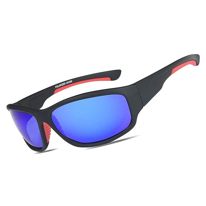 Amazon.com: JAFEEA Gafas de sol deportivas polarizadas con ...