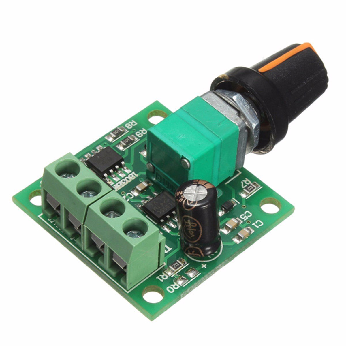 1 Stück x DC 1,8 V 3 V 5 V 6 V 12 V 2A Niederspannungsmotor Drehzahlregler    SP
