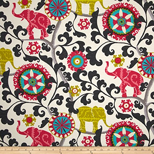 - WAVERLY 0419620 Sun N Shade Menagerie Spectrum Outdoor Fabric by The Yard,