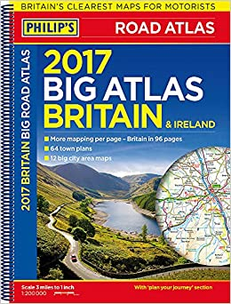 Philips big road atlas britain and ireland 2017 spiral amazon philips big road atlas britain and ireland 2017 spiral amazon philips maps 9781849074155 books gumiabroncs Image collections