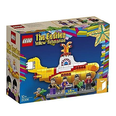LEGO Ideas Yellow Submarine 21306 Building Kit (The Beatles Lego)