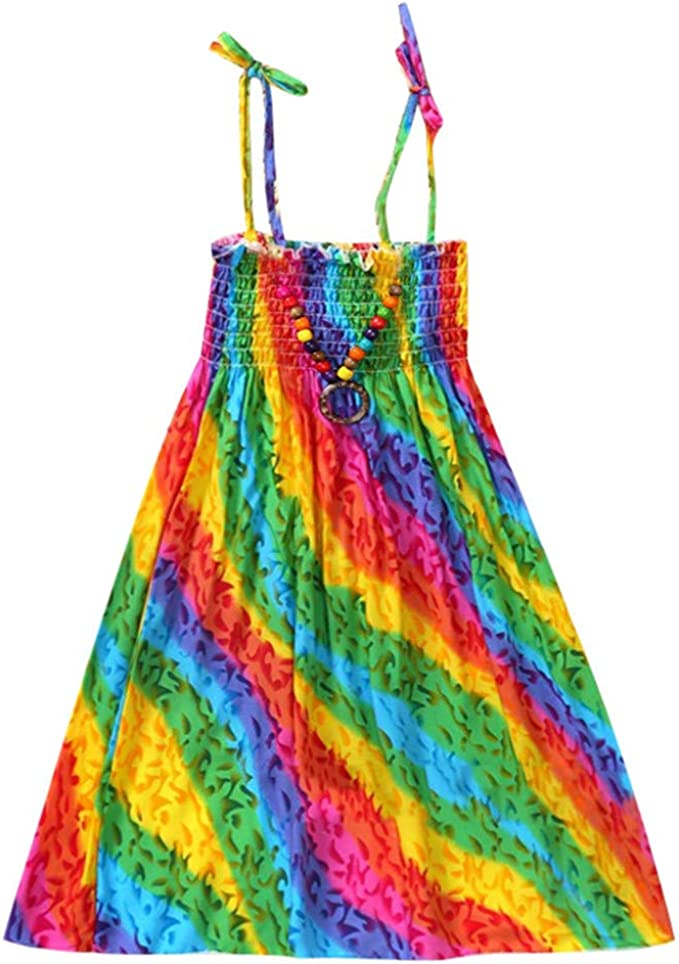 Moneycom - Vestido de Verano con Falda de Tul Chic, Ceremonia ...