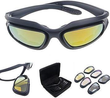 Polarisiert Fahren Reiten Linse Sonnenbrille Mit 4 Objektiv Für Motorrad Fahrrad Outdoor Aktivität Sport Jagd Militär Auto