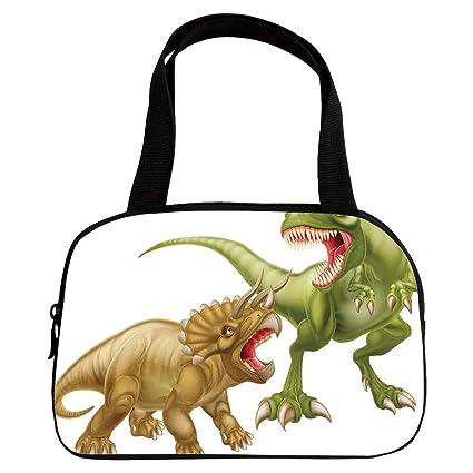 Amazon com : Vogue Small Handbag Pink, Dinosaur, T Rex