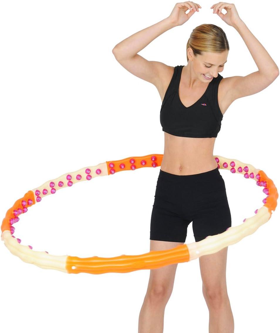 QDWRF Hula Hoop-Reifen Fitnessreifen Massage Hula Hoop Hula Hoop Der Nicht F/ällt Yoga Fitness Gewichtsverlust Artefakt Sportausr/üstung Geeignet F/ür Erwachsene Und Kinder