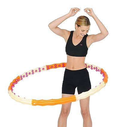 amazon com jemimah health hoop hula hoop with 96 magnets 1 7kg byHealth Hoop #4