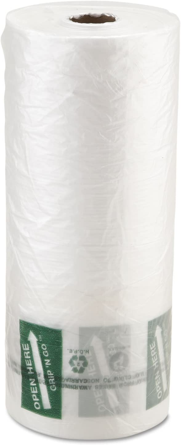 9 Microns 12 x 20 4 Rolls//Carton Inteplast Group PHMORE20NS Produce Bag Natural 875//Roll