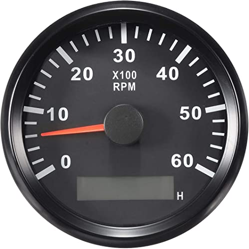 Outboard Marine Boat Tachometer (RPM Gauge) [Eling] Picture