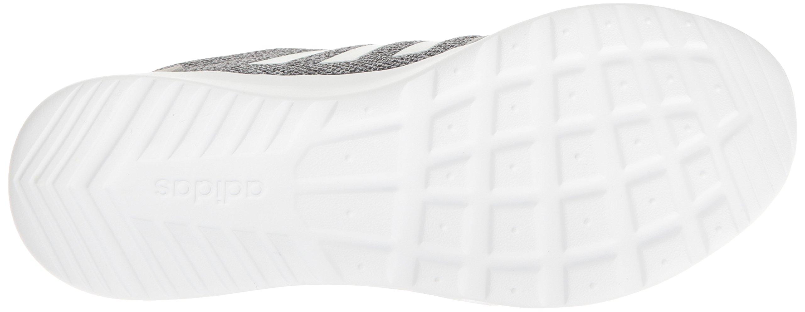 adidas Women's Cloudfoam Qt Racer w Running Shoe, Clear Onix/White/Light Onix, 5 M US by adidas (Image #3)