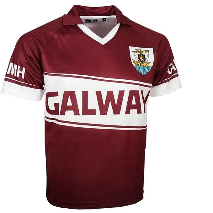 HQ Ireland Camiseta de fútbol para Adultos Replica de Galway (L)