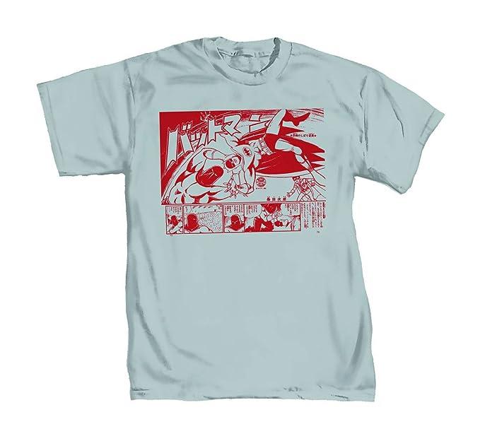 58342a60a DC Comics Batman Bat-Manga II By Kuwata Camiseta Gris Para Hombre  Amazon.es   Ropa y accesorios