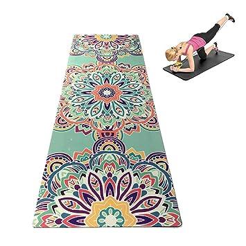 WYQWAN Estera para Yoga: Antideslizante, Duradera, Ecológica ...