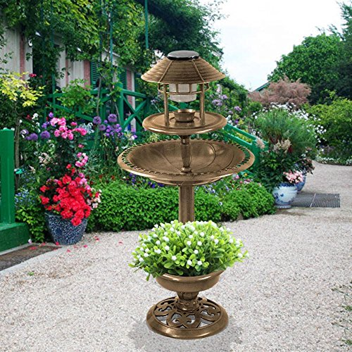 Bird Bath Solar Light - 1