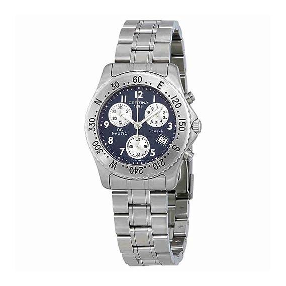 CERTINA DS Nautic Reloj DE Hombre Cuarzo Suizo 38MM C542.7118.42.52: Amazon.es: Relojes