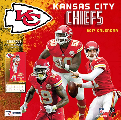 Turner Licensing Sport 2017 Kansas City Chiefs Mini Wall Calendar (17998040566)