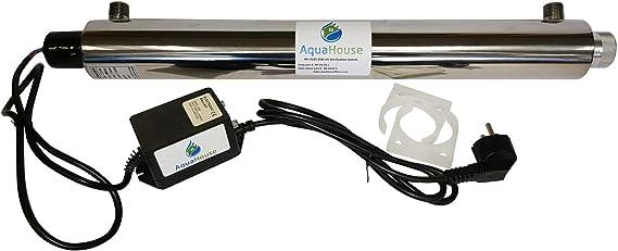 AquaHouse ultravioleta sistema de tratamiento de agua 25W UV 18 ...