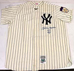 MICKEY MANTLE SIGNED AUTOGRAPHED JERSEY NEW YORK YANKEES ROOKIE 1951 NO 7 JSA