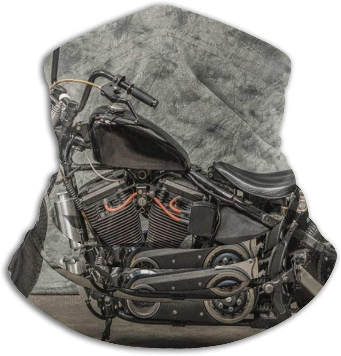 Harley Davidson Motorcycle Neck Warmer Gaiter For Men Women Headband Face Mask Bandana Head Wrap Scarf Headwear Winter Balaclava For Ski Running Motorcycle