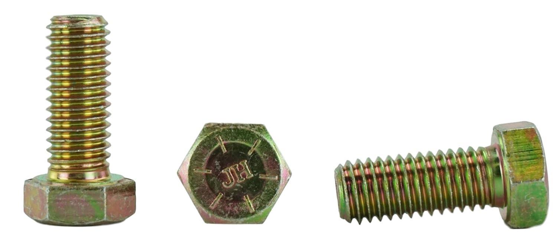 1//2-13 x 4 Hex Head Bolts Hex Head Cap Screws 1 to 5 Lengths in Listing 25 pcs, 1//2-13 x 4 Grade 8