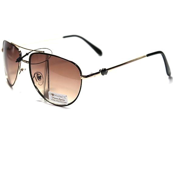 #RO1-S1 ROMANCE Eyewear Sexy Aviator Womens Sunglasses
