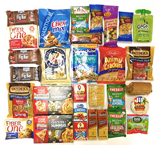 Ultimate Survival Kits Snack Care Package for College Students, Military, Friends (Ultimate Healthy)