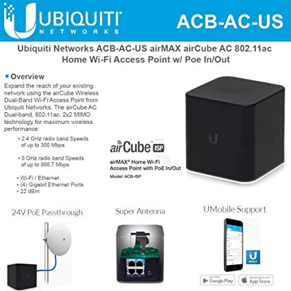 Ubiquiti Networks airCube ISP Wi-Fi Access Point ACB-ISP-US
