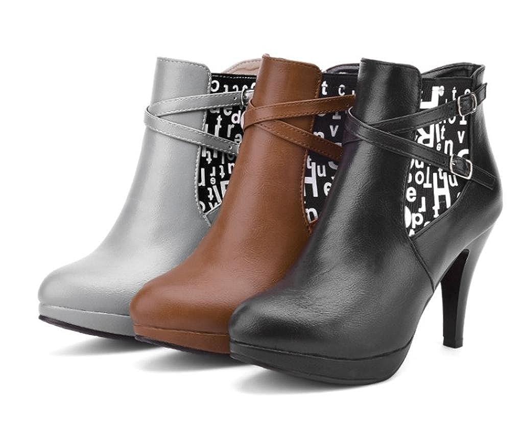 MNII damen High Fashion Großes High damen Heeled Schuhe Damen Work Office Chelsea Stiefel- Modeschuhe a66906