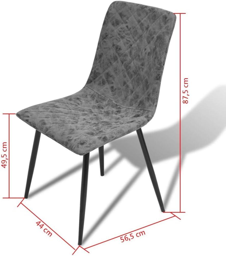 : Festnight 6er Set Esszimmerstühle Essstuhl