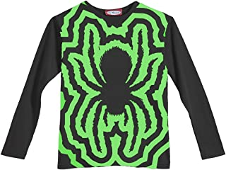 product image for City Threads Little Boys' Spider Glow in The Dark Tee in Black