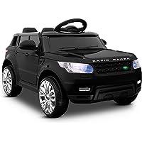 RIGO Kids Ride On Car RANGE ROVER Licensed Inspired Toy Car Remote Control-Black