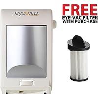 Eye-VAC PRO White Professional Automatic Touchless Stationary Vacuum VA-51003X