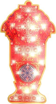 Decorative Ramadan Lantern lights large 2, size 26-50 cm