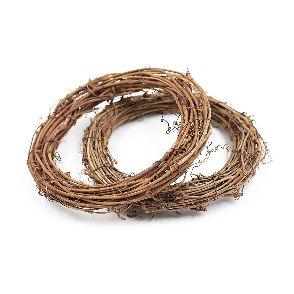 Grapevine Rattan Wreath