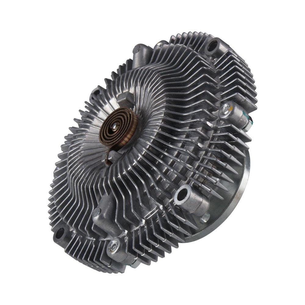 G B 2664 Engine Cooling Fan Clutch for 96-04 Nissan Frontier 300ZX D21 Pathfinder Xterra Infiniti QX4 Q45 3.0L 3.3L 4.5L