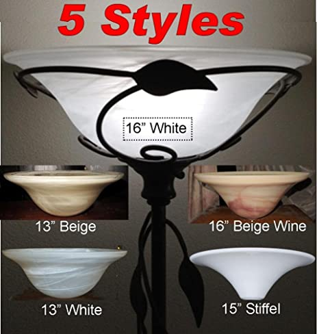 Torchiere Glass Lamp Shades For Floor Lamps by Lamp Shade