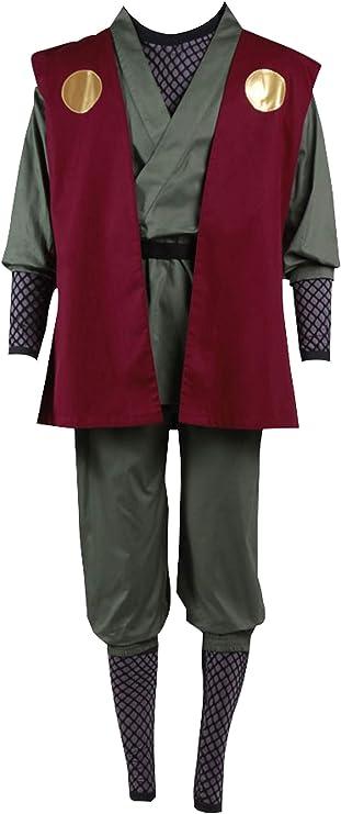 Mtxc Hombre Naruto Cosplay Disfraz Jiraiya Primero Tamaño Large ...